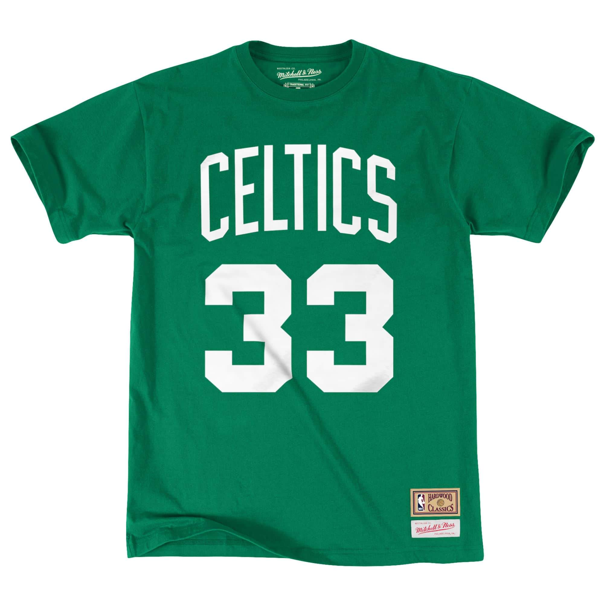 cheap throwback jerseys Mitchell & Ness Larry Bird Boston Celtics ...